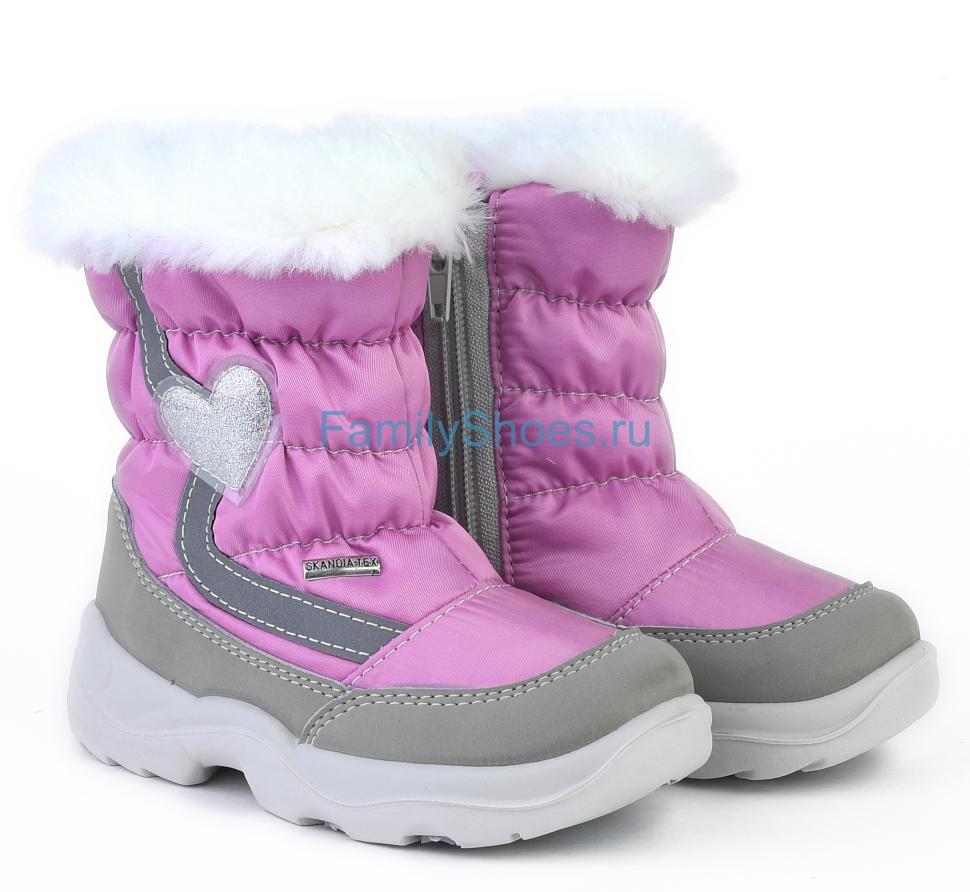 e3b4eff7b Купить детские сапоги skandia 8474r розовый динамик по доступной ...